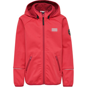LEGO wear Sam 200 Softshell Jacket Kids coral red